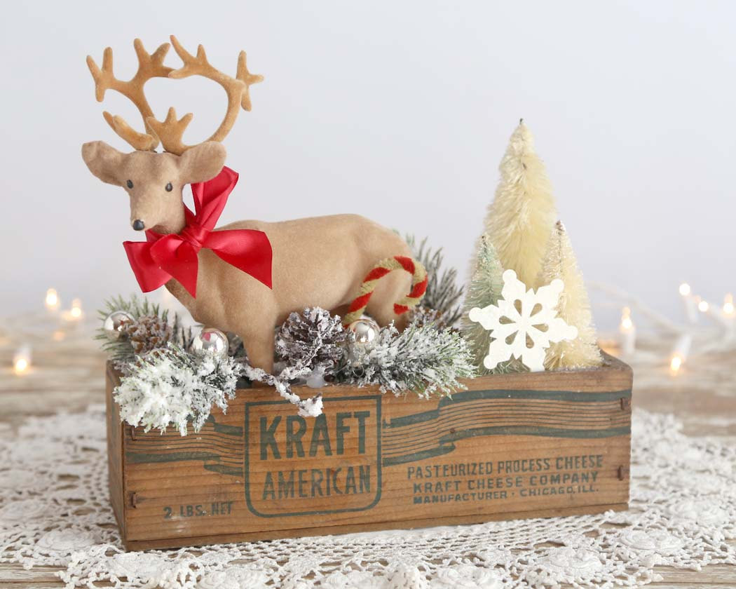 Charming Vintage Christmas Decoration Set