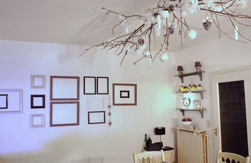 DIY Christmas Living Room Decoration