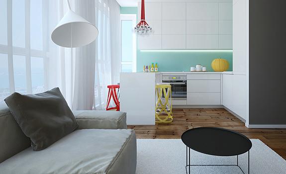 Modern small apartment in Bulgaria