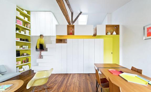 Vivid Ideas for a Bright Apartment