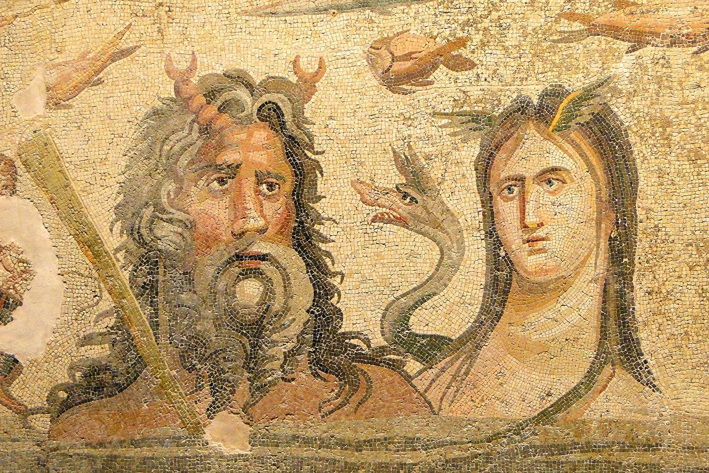 2200-Year-Old Mosaics
