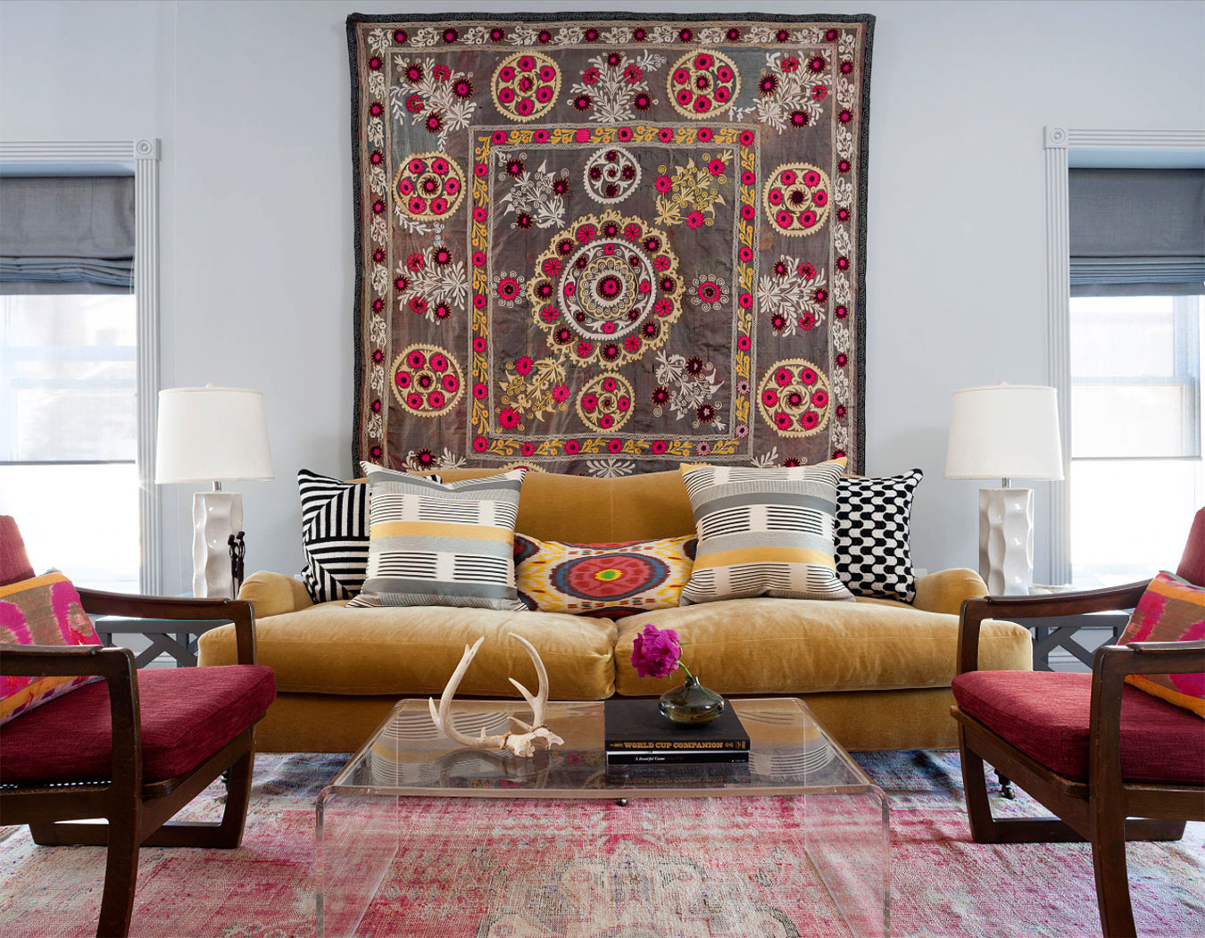 Living Room Ideas For Wall Decor non traditional wall ideas to make a bold statement carpet as decor idea