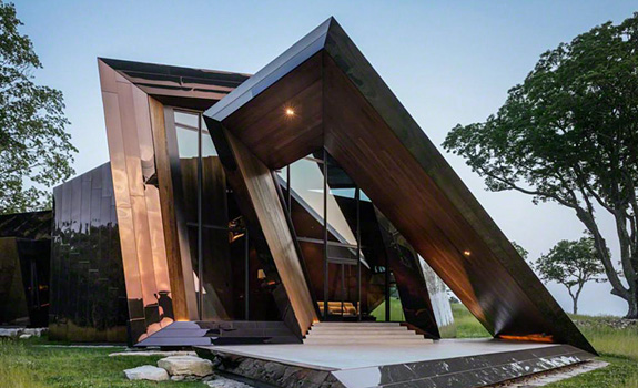 Futuristic Home in Connecticut