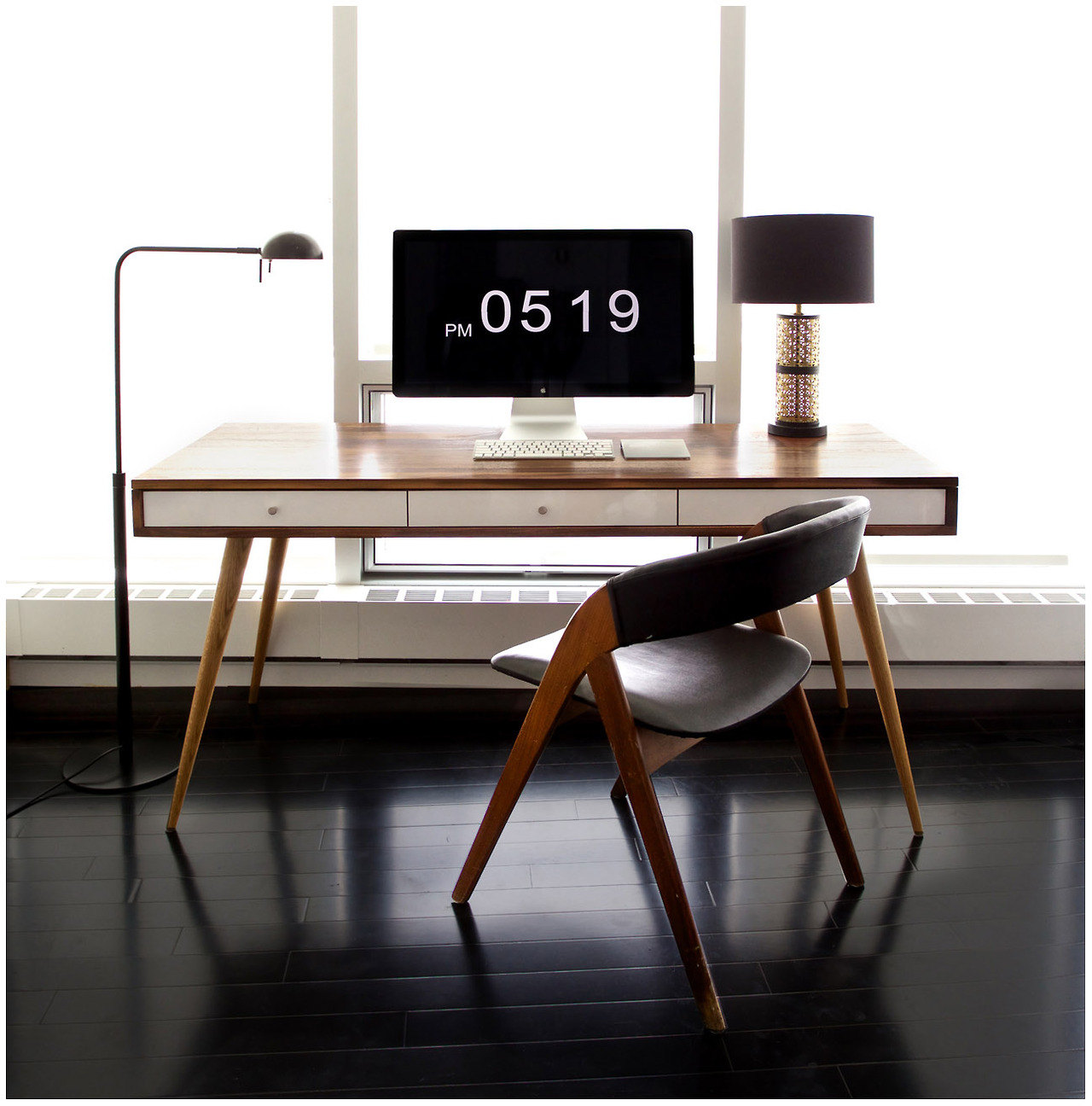Stylish The Beauty of a Handmade Wooden Office Desk