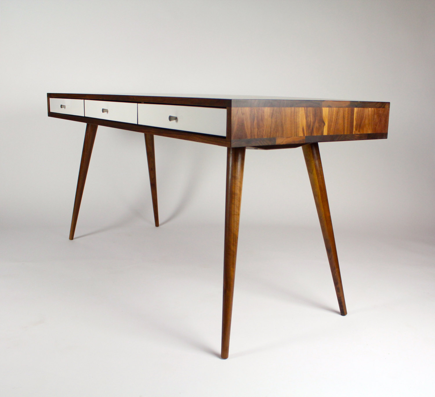 The beauty of a handmade wooden office desk adorable home - Wood office desk ...