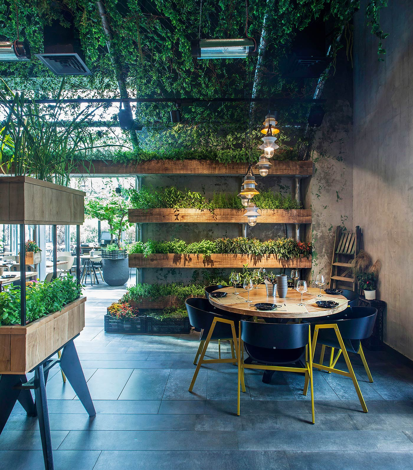 Segev Kitchen Garden Restaurant in Israel
