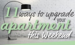 11 tips on how to upgrade your apartment in a weekend