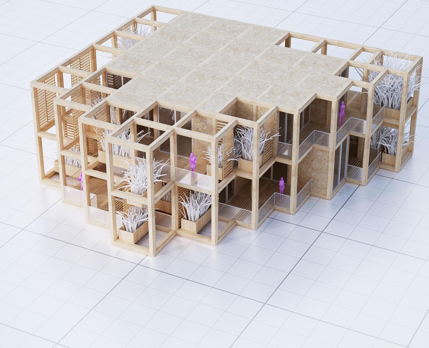 A modular system of a structural framework - ready