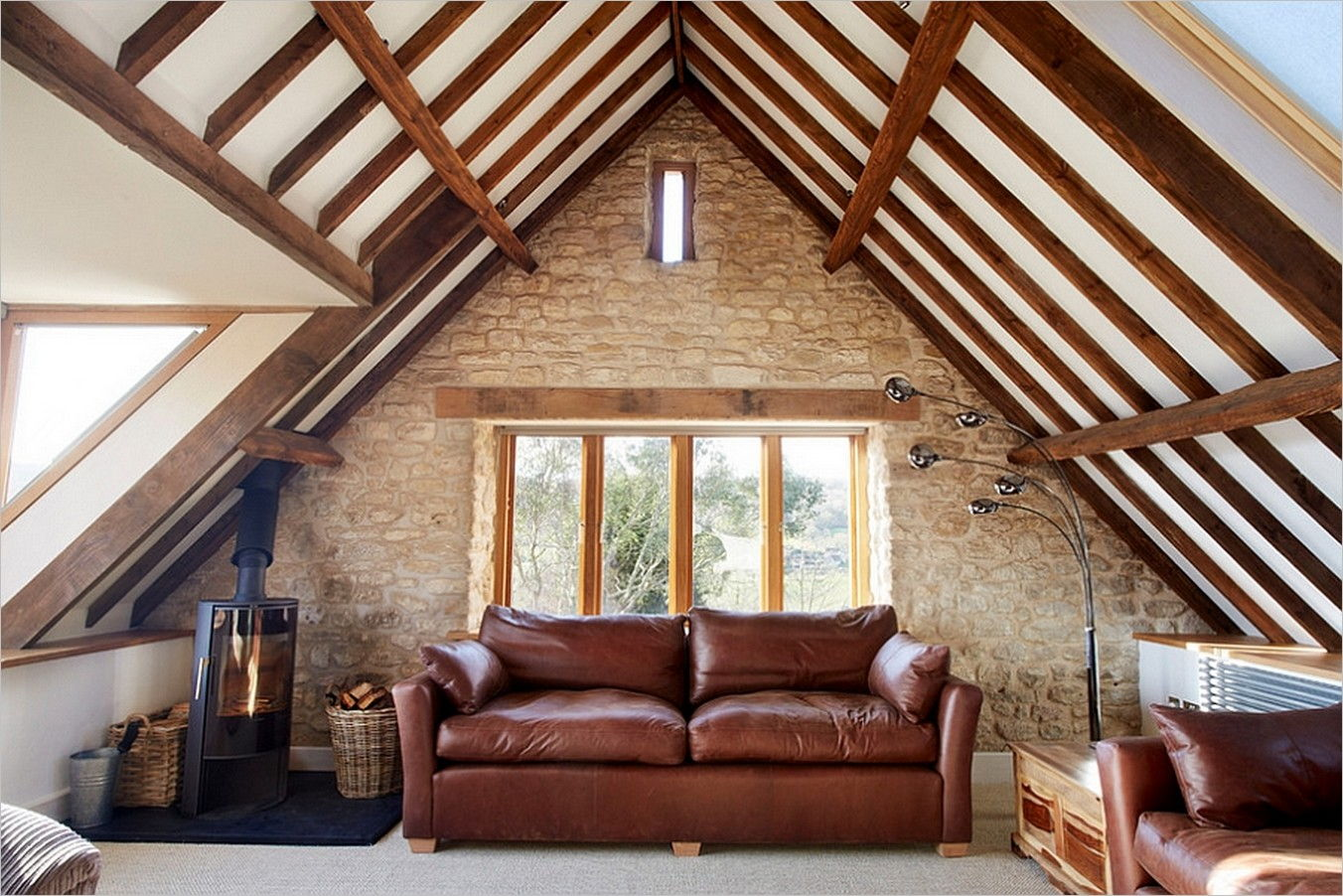 25 Attic Living Room Ideas 25