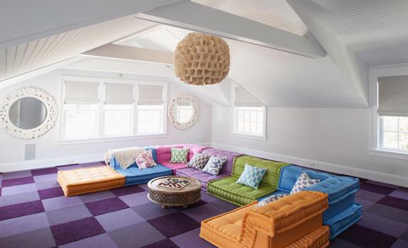 30 Attic Living Room Ideas