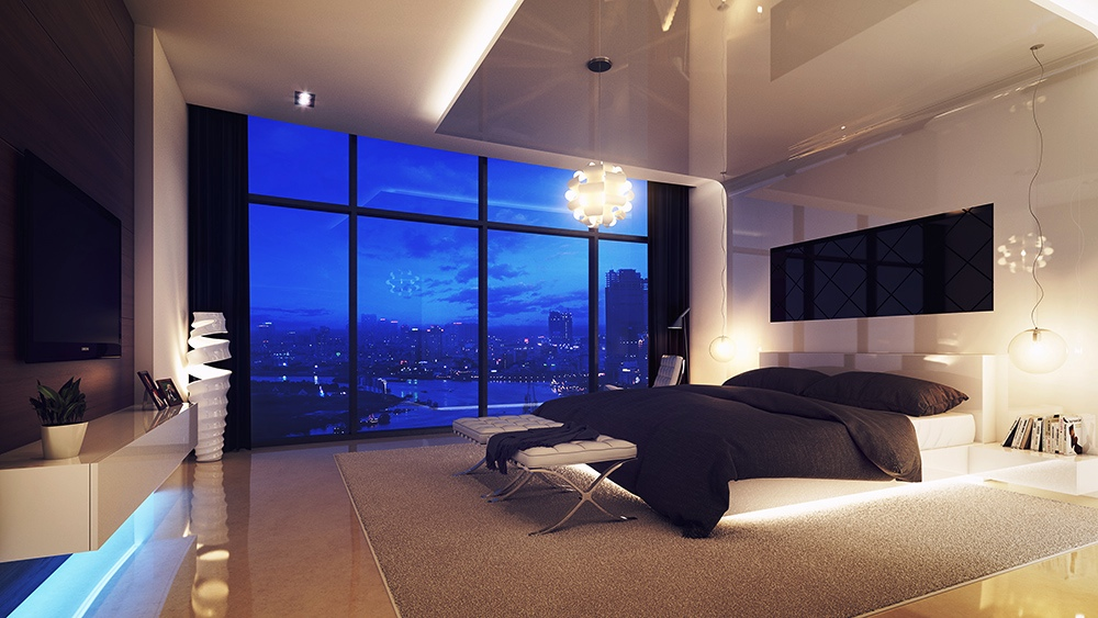 The Greatest Selection of Bedrooms With Floor-to-Ceiling ...