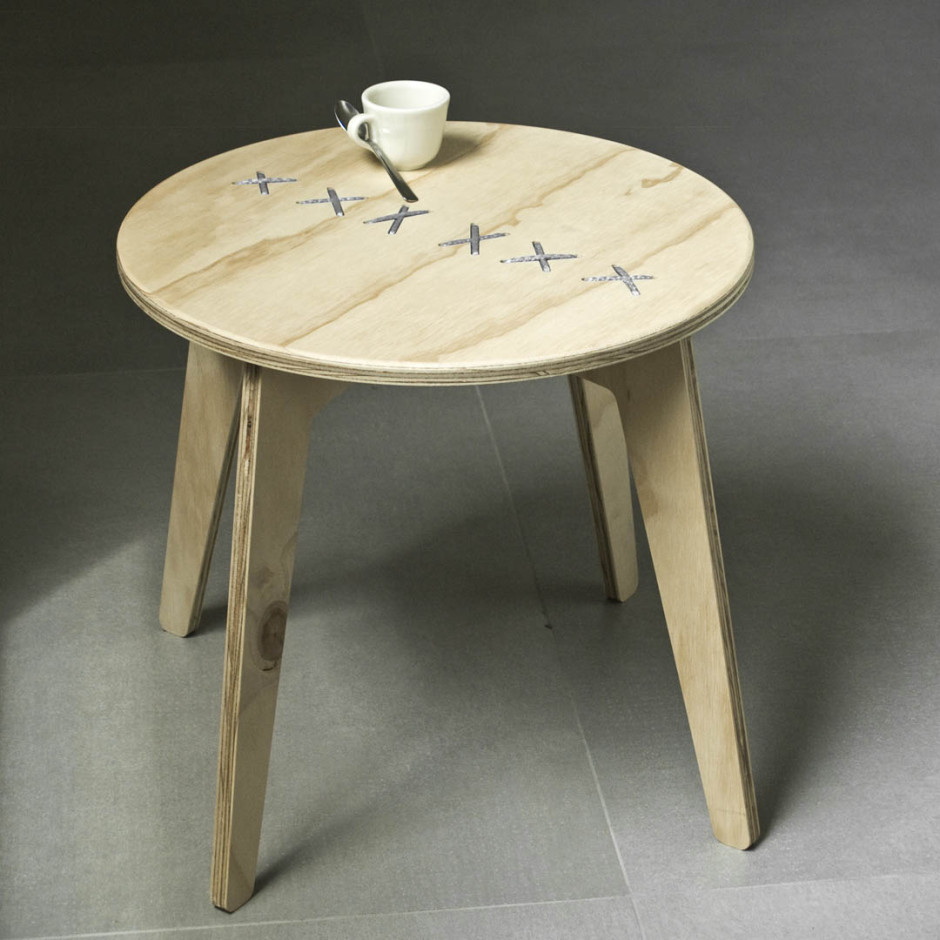 Hand Stitched Coffee Table Adorable Home