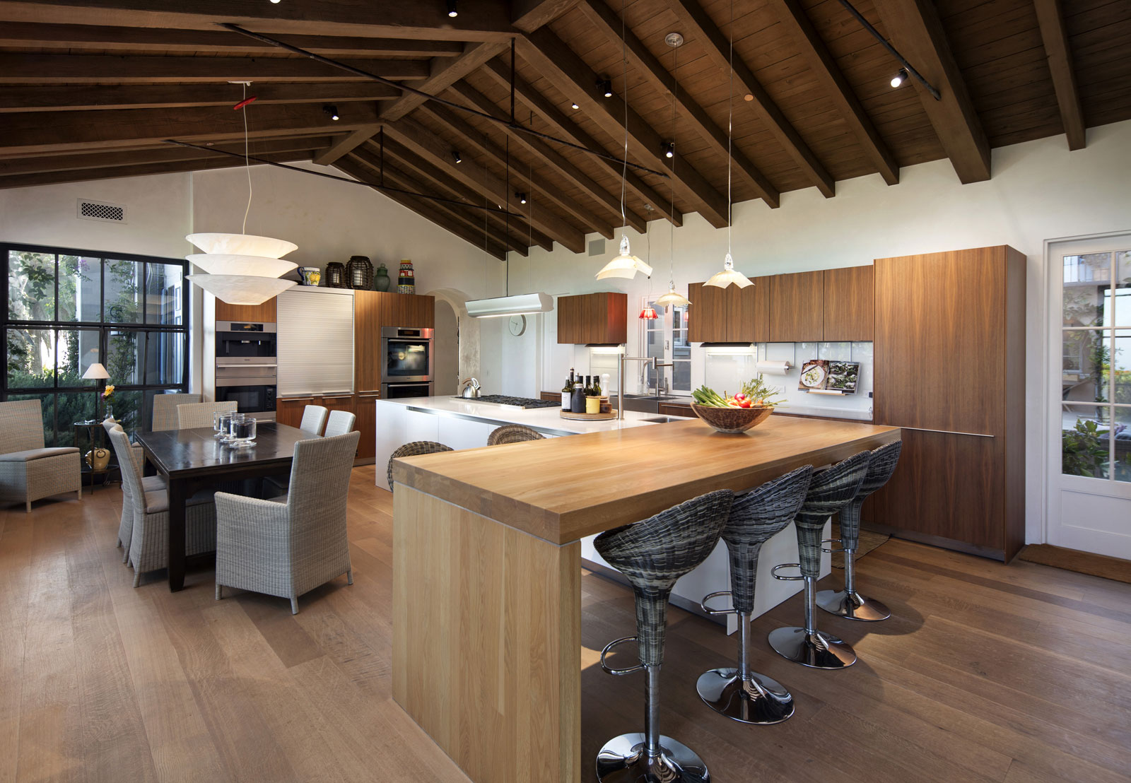 Modern kitchen with a kitchen island