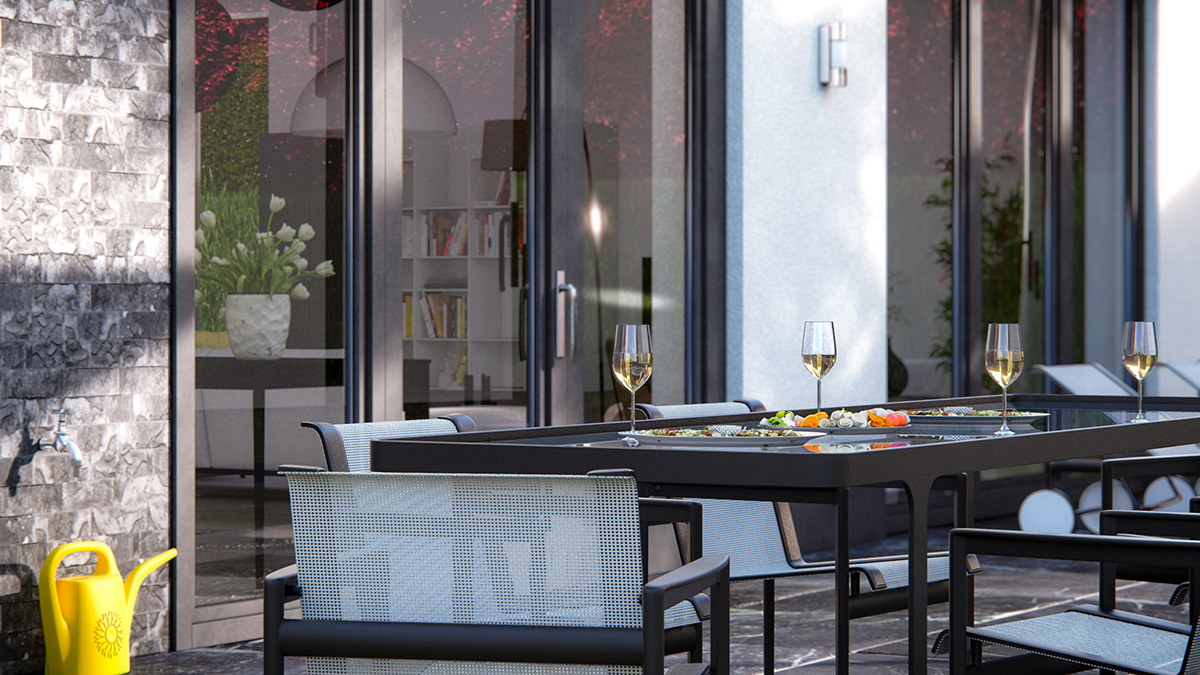 House patio design