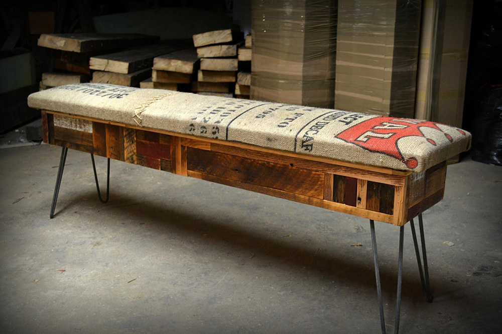 Reclaimed Wood Storage Bench €  Adorable Home . - Reclaimed Wood Storage Bench WB Designs