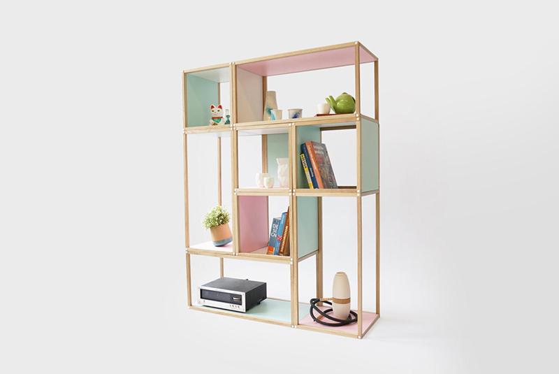 Stack shelf