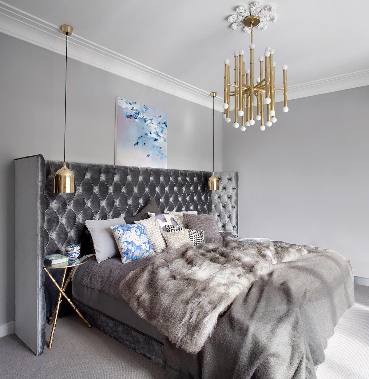 The bedroom in the Ballsbridge Residence