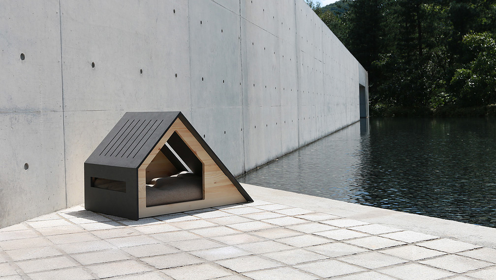 The most adorable dog houses ever some of them you can for Modern dog house designs