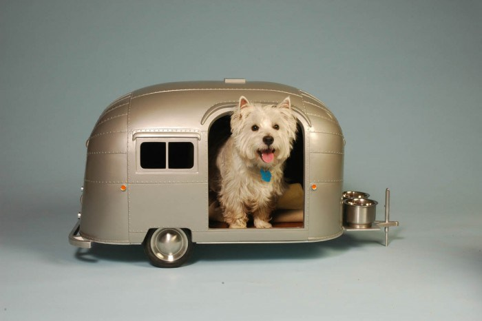 Dog House Trailer the most adorable dog houses ever! (some of them you can buy