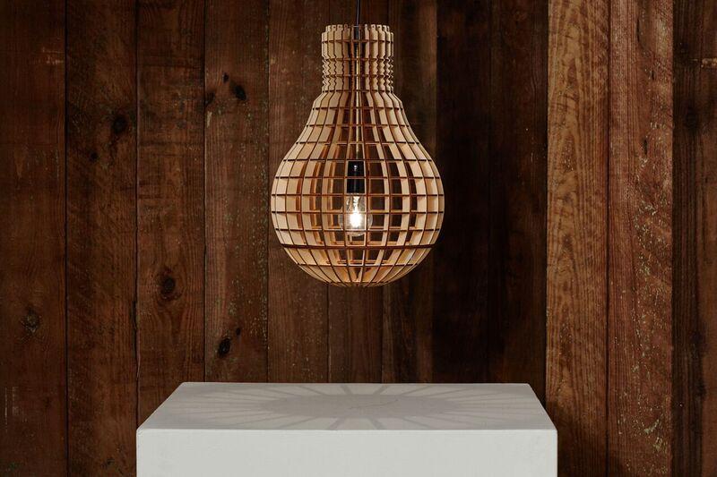 Aura Wooden Pendant Lamp