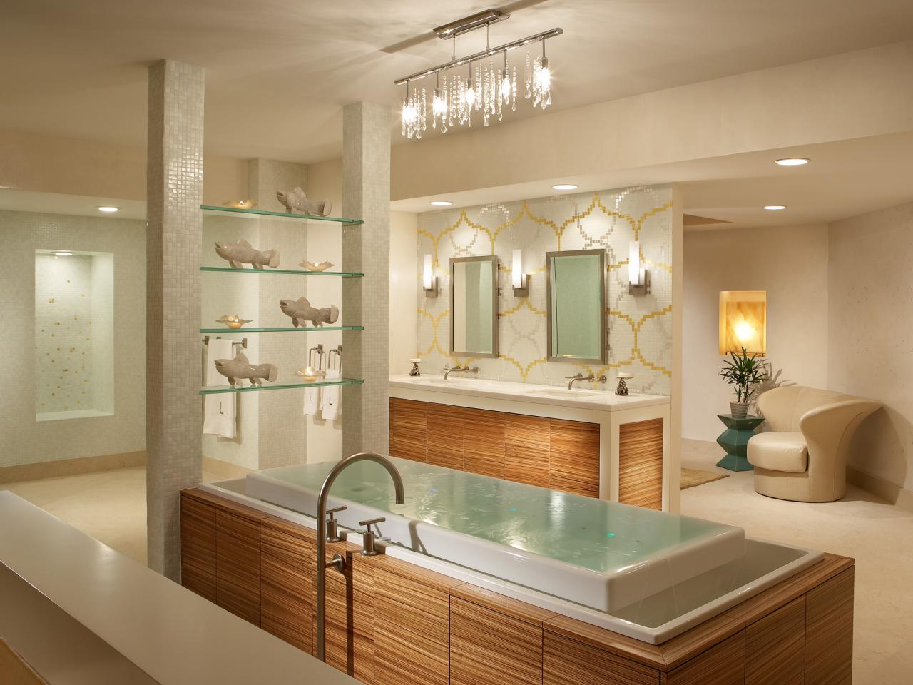 Bathroom lighting essentials guide adorable home luxury bathroom mozeypictures