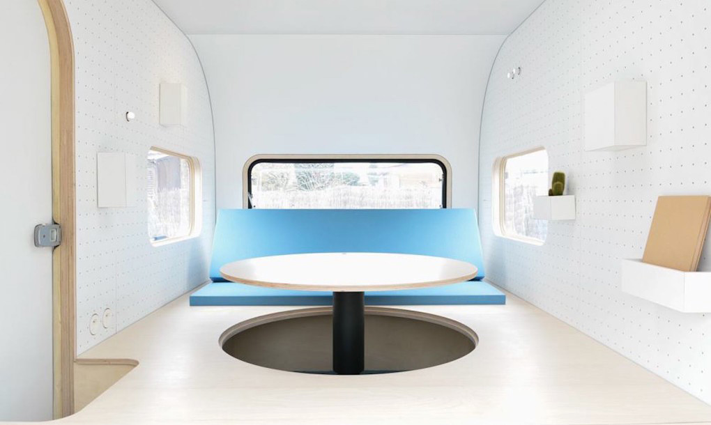Camper Office - the table