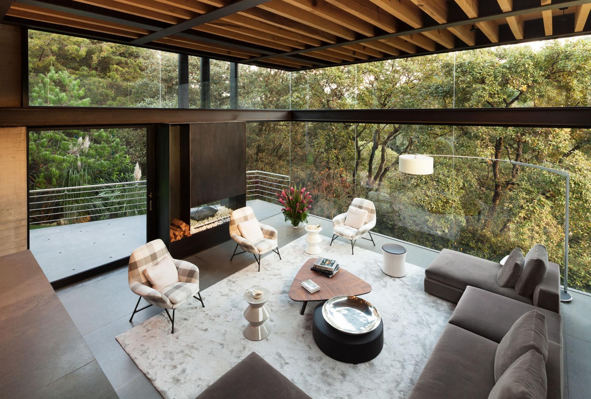 Casa Tepozcuautla - living room