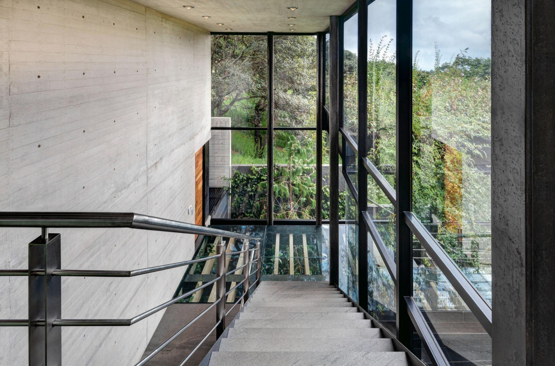 Casa Tepozcuautla - indoor staircase