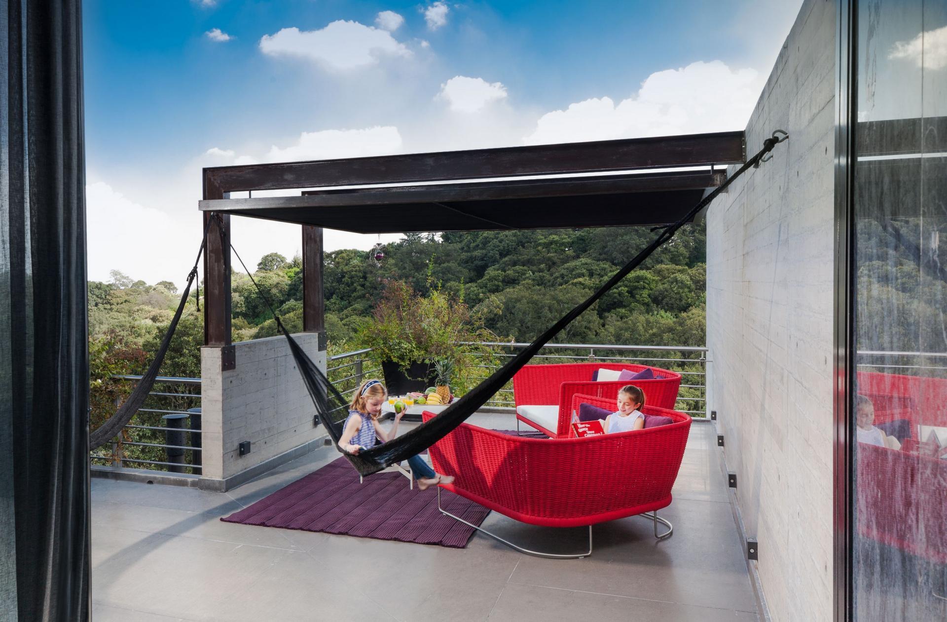 Casa Tepozcuautla - on the balcony