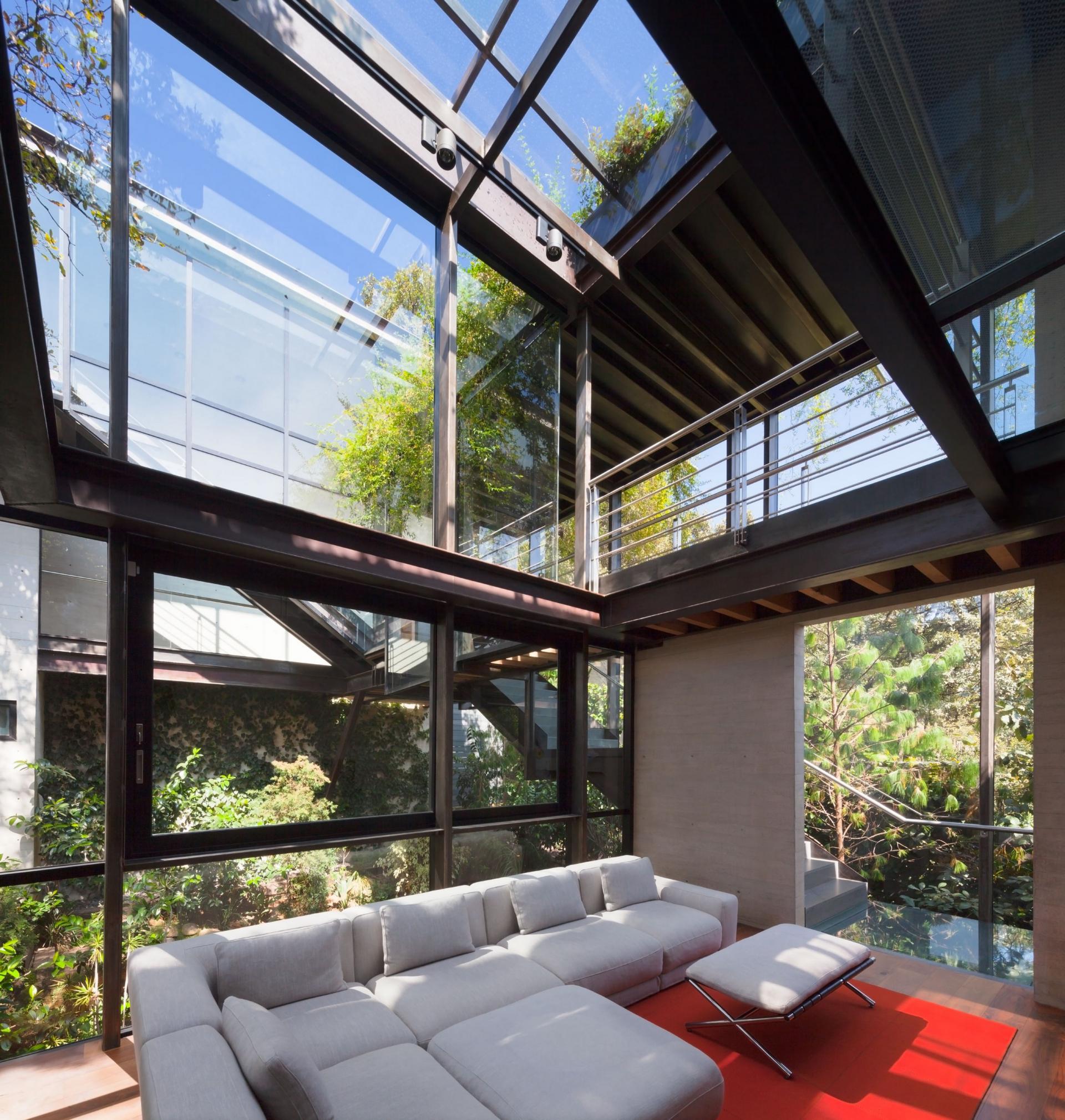 Casa Tepozcuautla - the living room