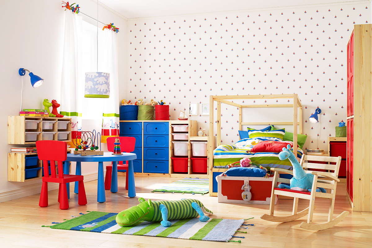 Tips And Tricks For A Tidier Children's Bedroom
