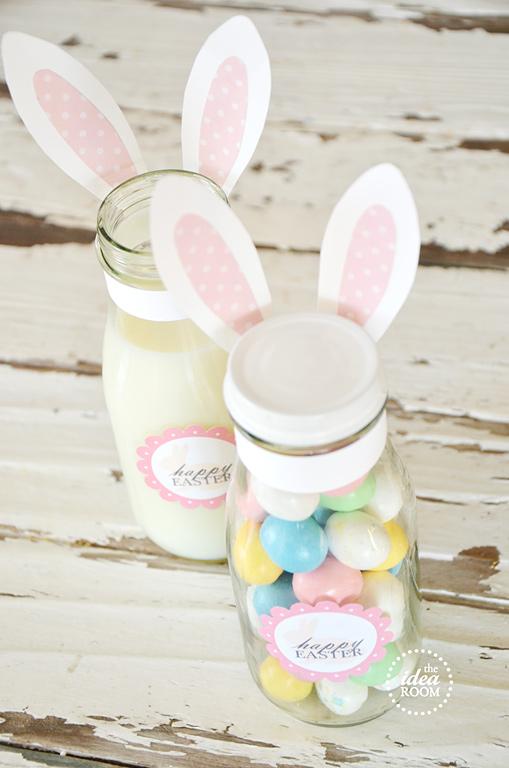 Decorating Mason Jars for Easter