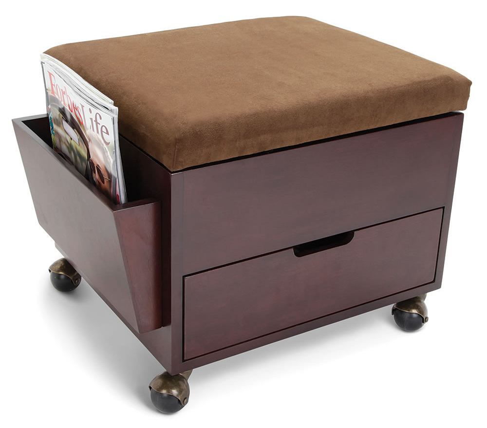 Perfect Mobile Storage Ottoman