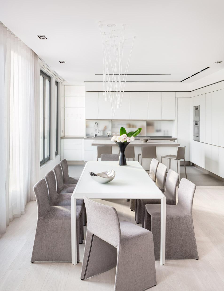 Modern Penthouse-Dining are