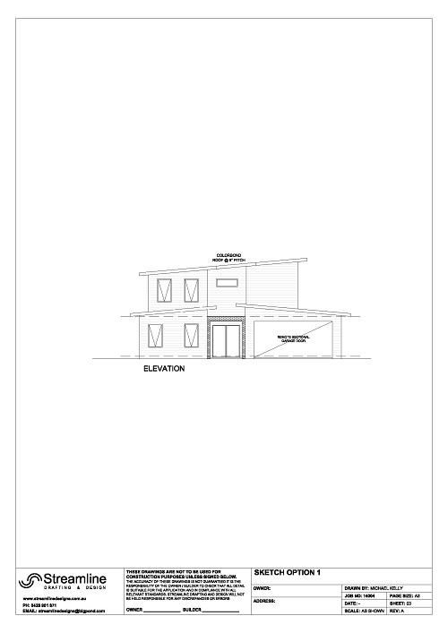 House exterior sketch