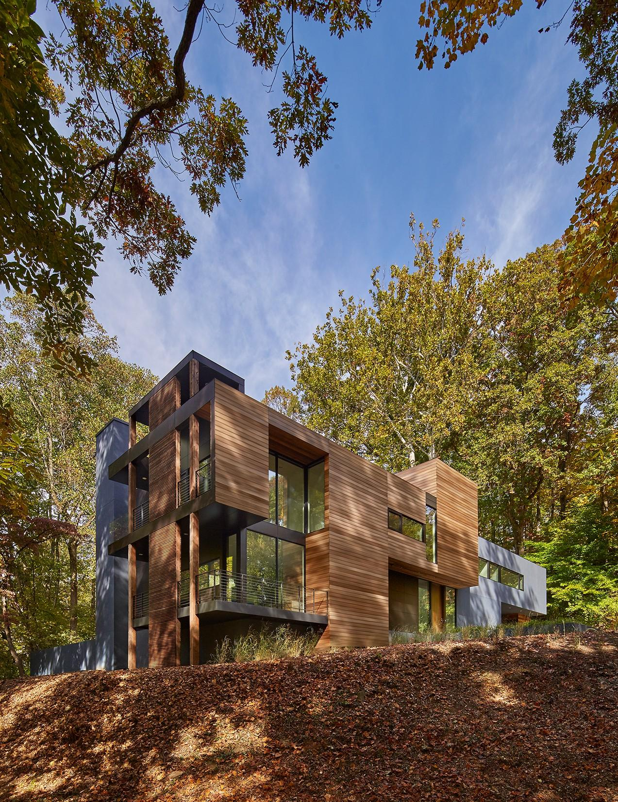 Mohican Hills house by the architect Robert Gurney