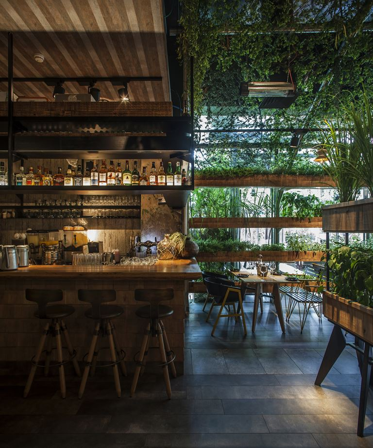 Segev Kitchen Garden - the bar