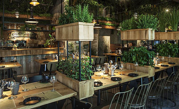A Natural Restaurant Interior Design – Adorable Home
