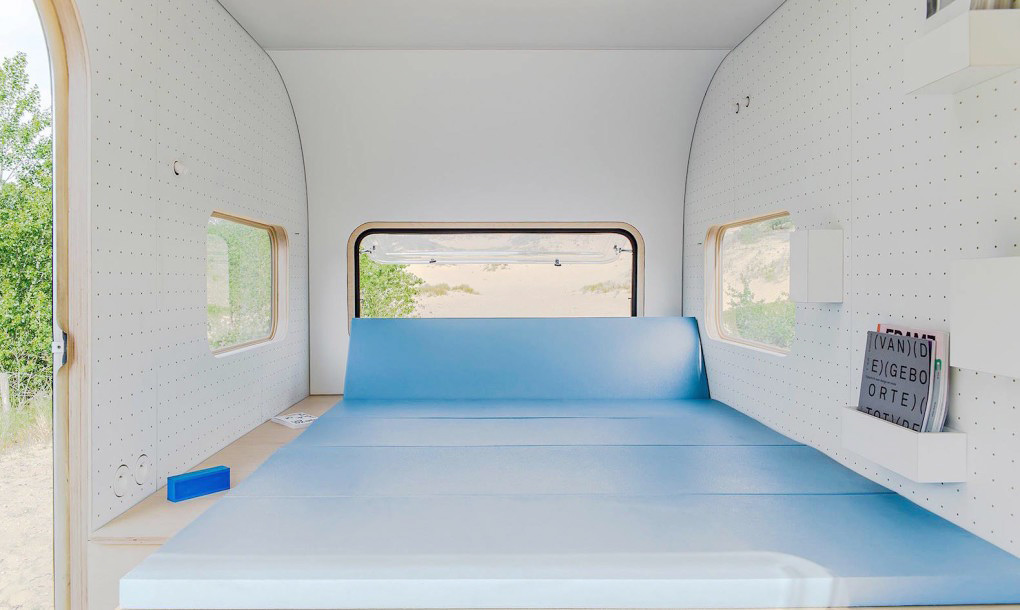 Office Camper with bed