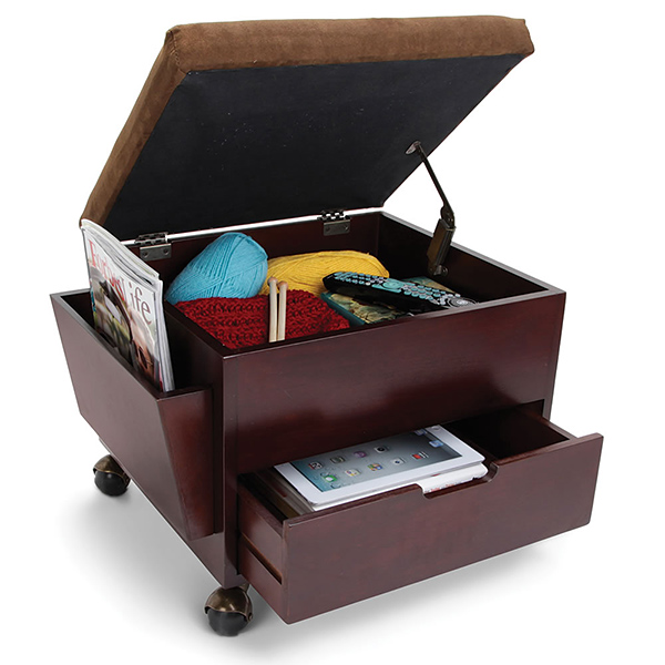 Genial The Perfect Mobile Storage Ottoman