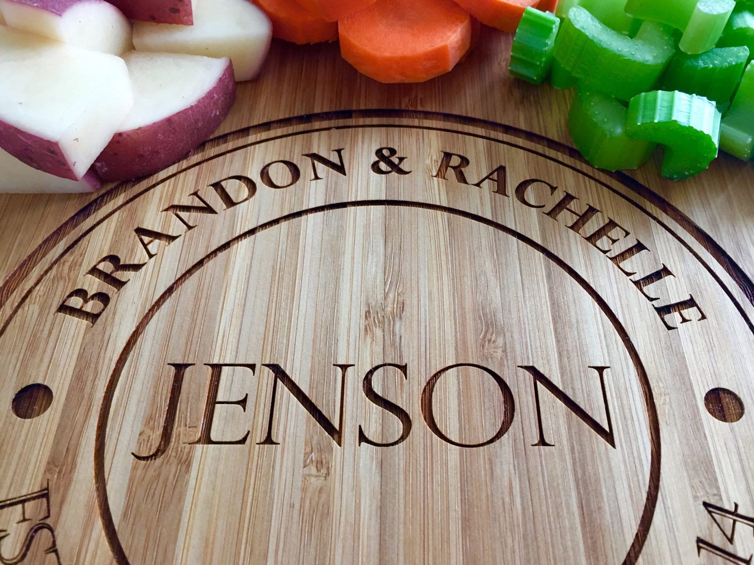 The perfect personalized cutting board
