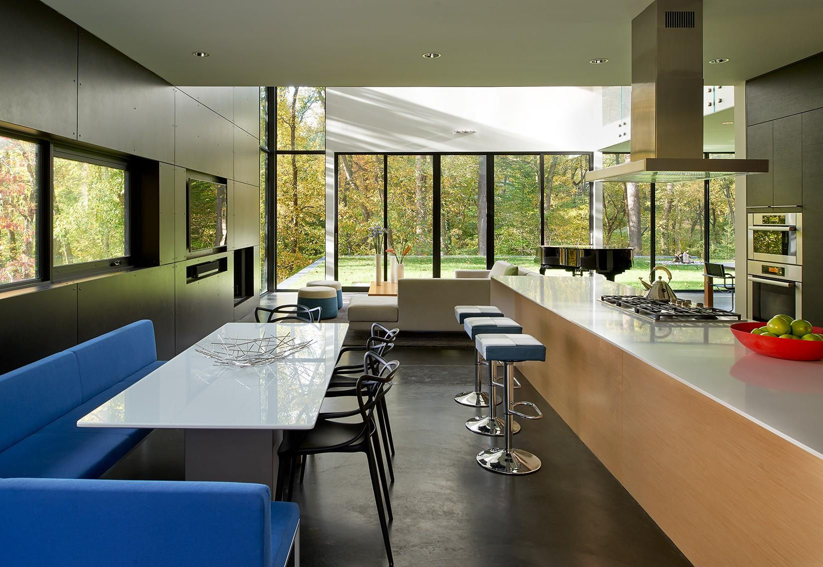 Stein Residence-dining-kitchen