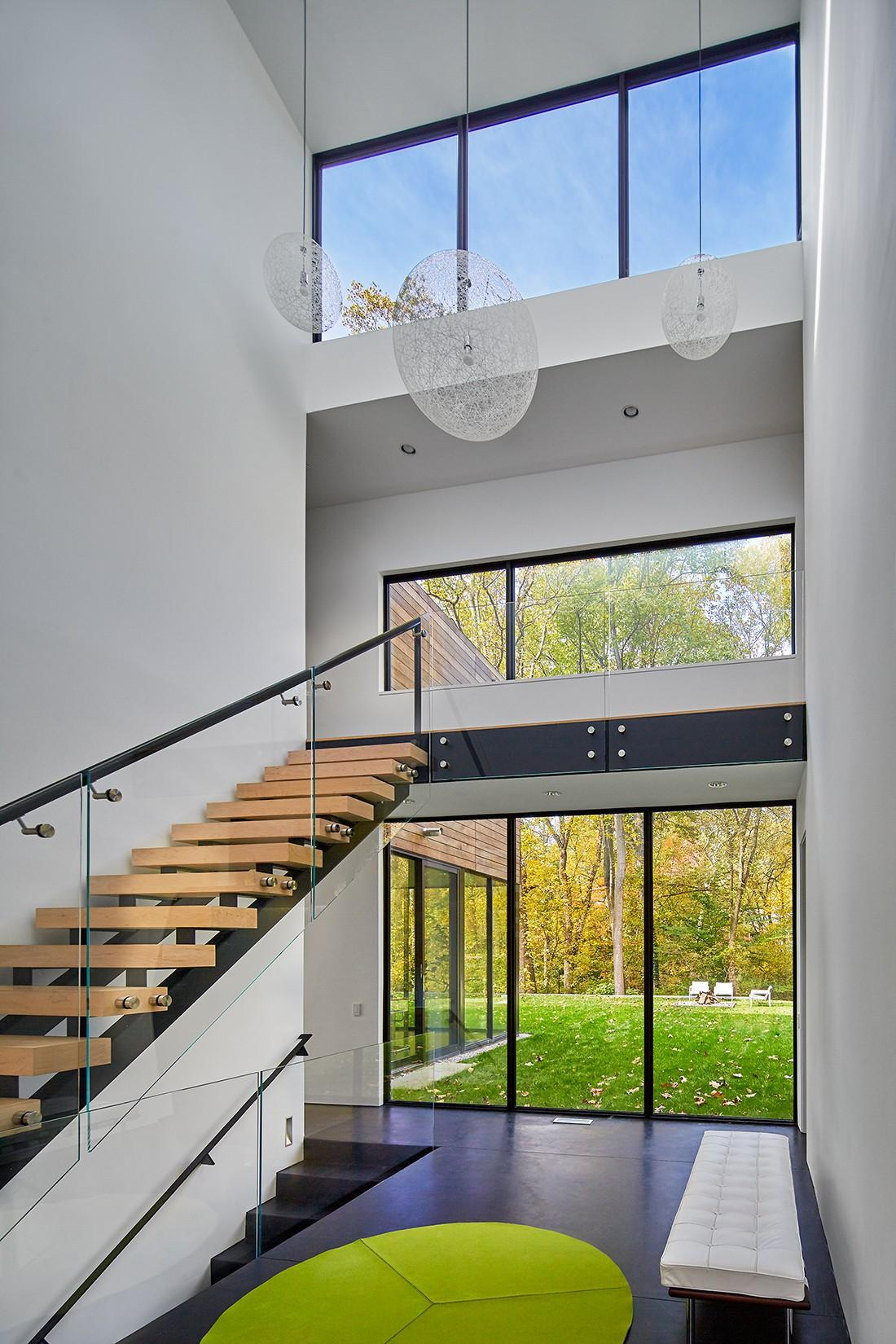 Stein Residence-internal staircase