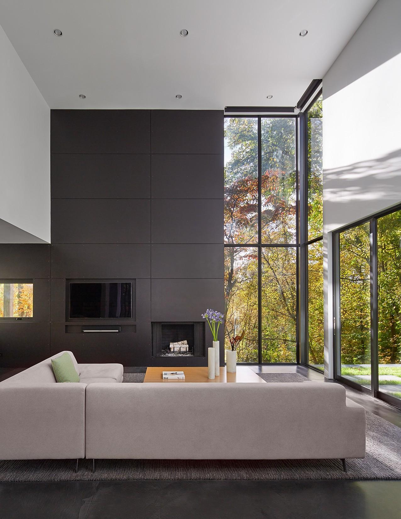 Stein Residence-living room