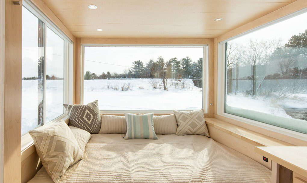 Tiny Trailer Home-Bedroom