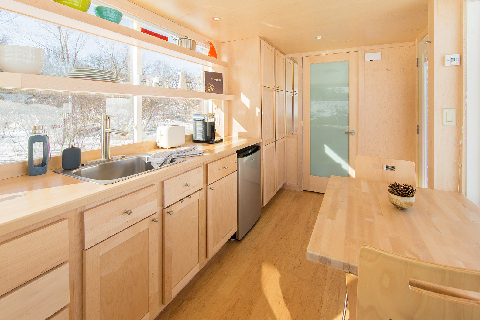 Tiny Trailer Home-kitchen-dining
