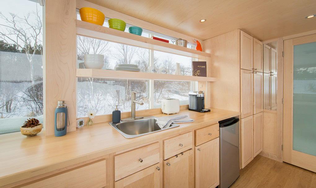 Tiny Trailer Home-kitchen