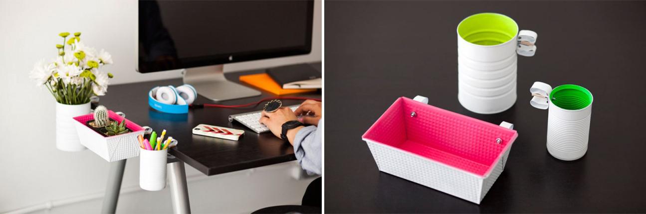 DIY Desk Organizers Tutorial
