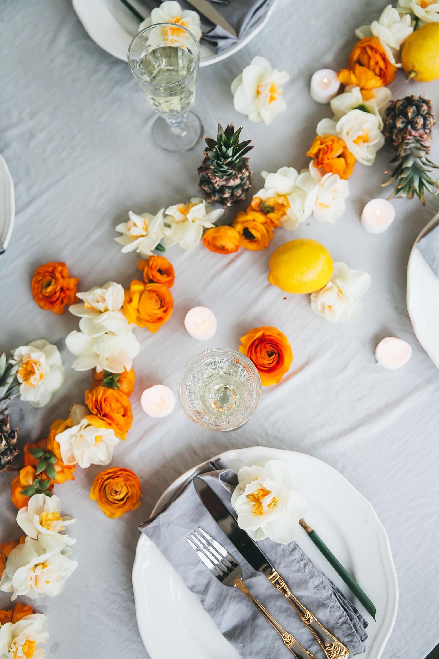 how to keep flower garlands fresh