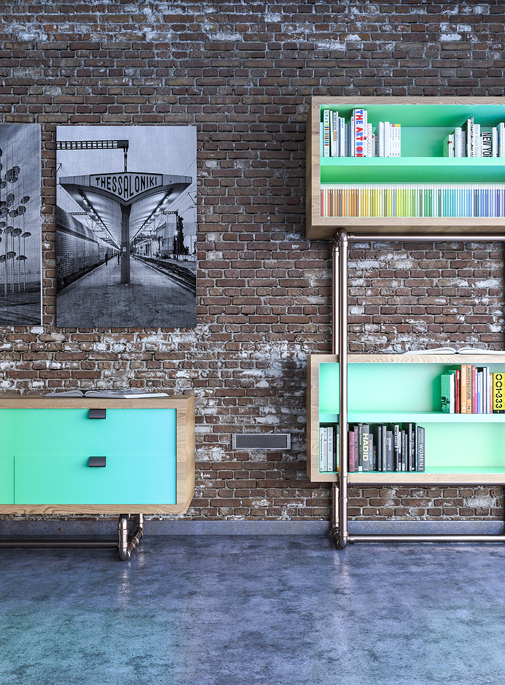Wiref Eco-Friendly Modular Furniture